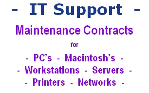PC's - Macintosh's - Workstations - Servers - Printers - Networks